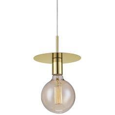 DISC lampa wisząca mosiądz
