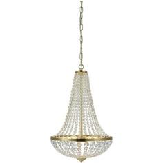 GRÄNSÖ 40cm lampa wisząca szczotkowana mosiądz