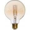 Żarówka ozdobna kula Bulb LED E27 2700K 6,5W bursztynowa TK Lighting