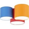 Kolorowy Plafon dziecięcy Mona Kids III kolorowy TK Lighting do pokoju dziecięcego.