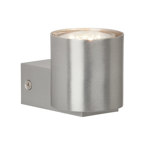 Nowoczesny Kinkiet ścienny nowowczesny Izon Led Aluminium Brilliant do sypialni i salonu.