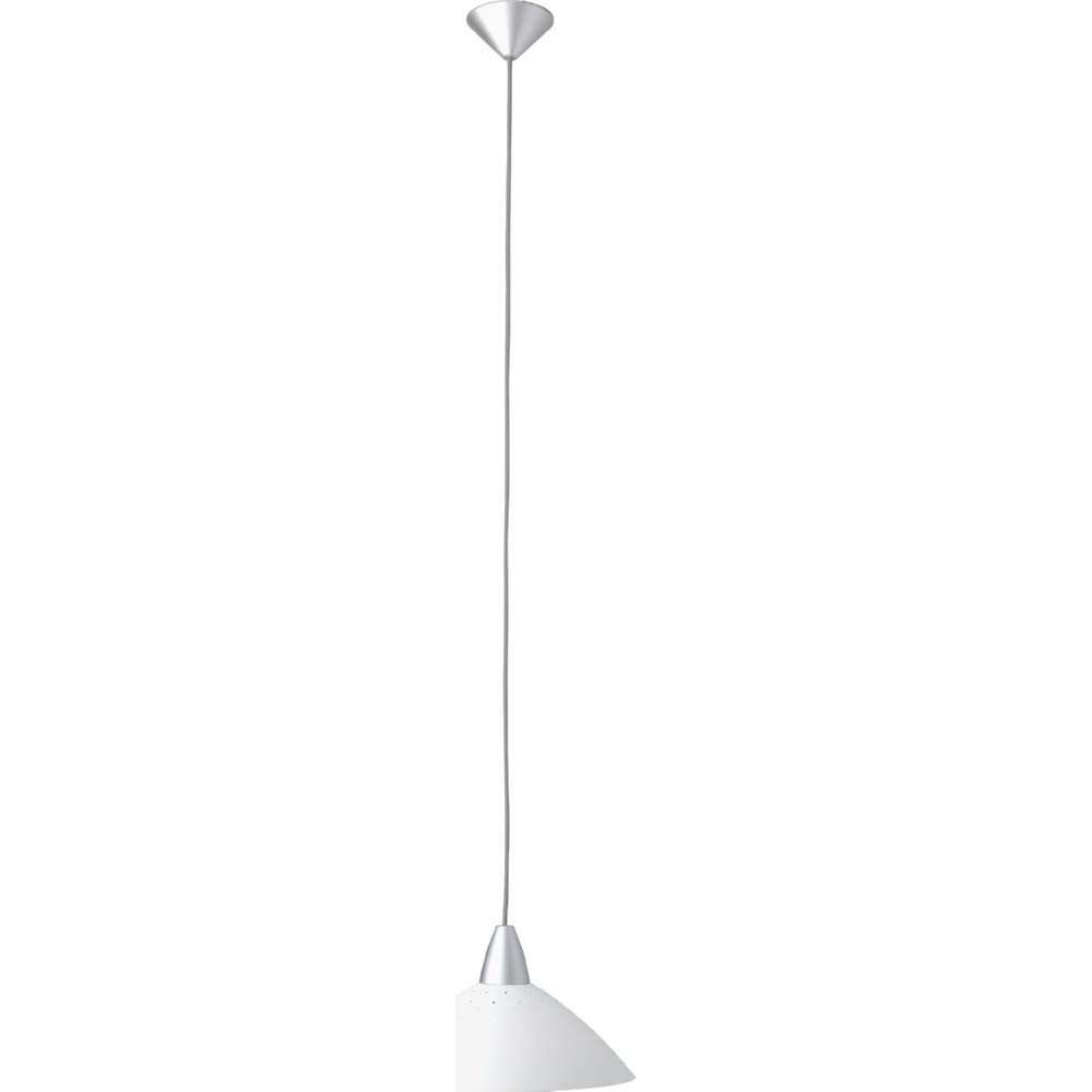 Lampa wisząca Logo 35 Biała Brilliant do jadalni, kuchni i sypialni.