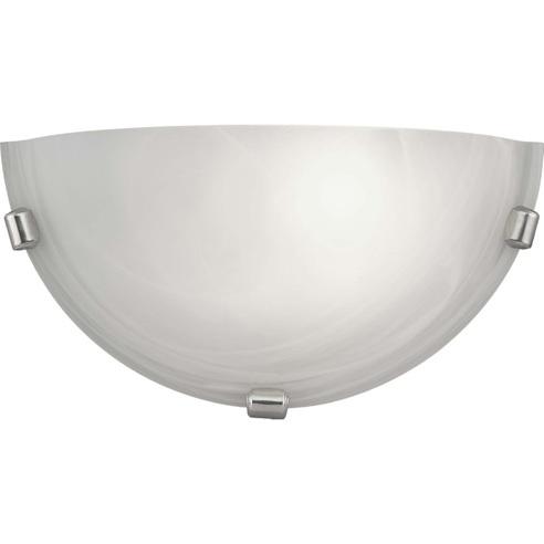Kinkiet szklany antyczny Mauritius Biały Brilliant do salonu, sypialni i przedpokoju.