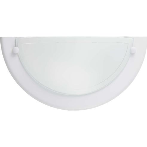 Kinkiet szklany ścienny Miramar Biały Brilliant do salonu, sypialni i przedpokoju.