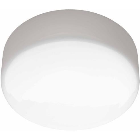 Stylowy Plafon szklany okrągły Isar 20 Biały Brilliant do kuchni, salonu i sypialni.