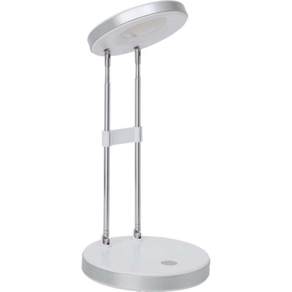 Funkcjonalna Lampa biurkowa Venedig Led Biała Brilliant do gabinetu i pracowni.