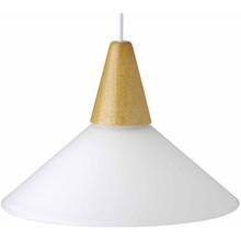 Lampa wisząca Pastell buk/biała