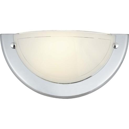 Kinkiet szklany ścienny Miramar Chrom Brilliant do salonu, sypialni i przedpokoju.