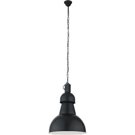 Lampa wisząca HIGH-BAY czarna I