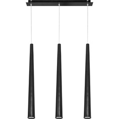 Lampa wisząca QUEBECK czarna III