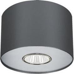 Lampa spot POINT grafitowy srebrny / grafitowy biały S