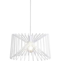 Druciana lampa wisząca NESS biała I 46 Nowodvorski