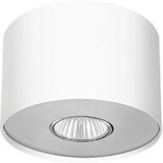 Lampa spot POINT biały srebrny / biały grafitowy S