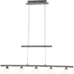 Lampa wisząca Tonja LED chrom/biała
