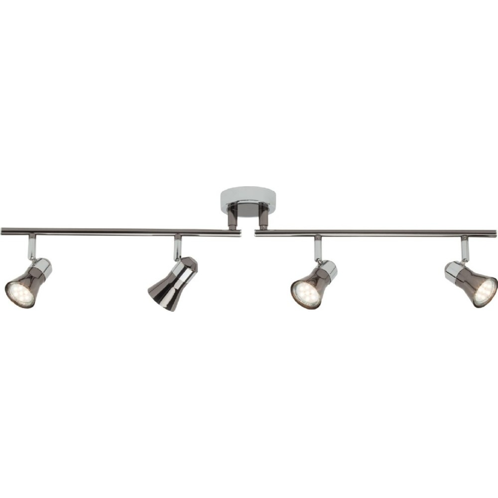 Plafon sufitowy Jupp LED chrom/czarny