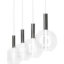 Lampa wisząca Elegant LED chrom/przezroczysta
