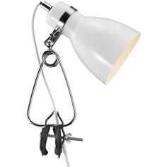 Lampa klips Cyclone biały