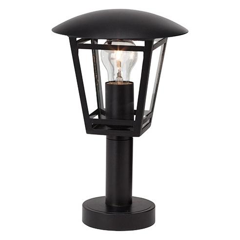 Zewnętrzna lampa stojąca Riley czarna