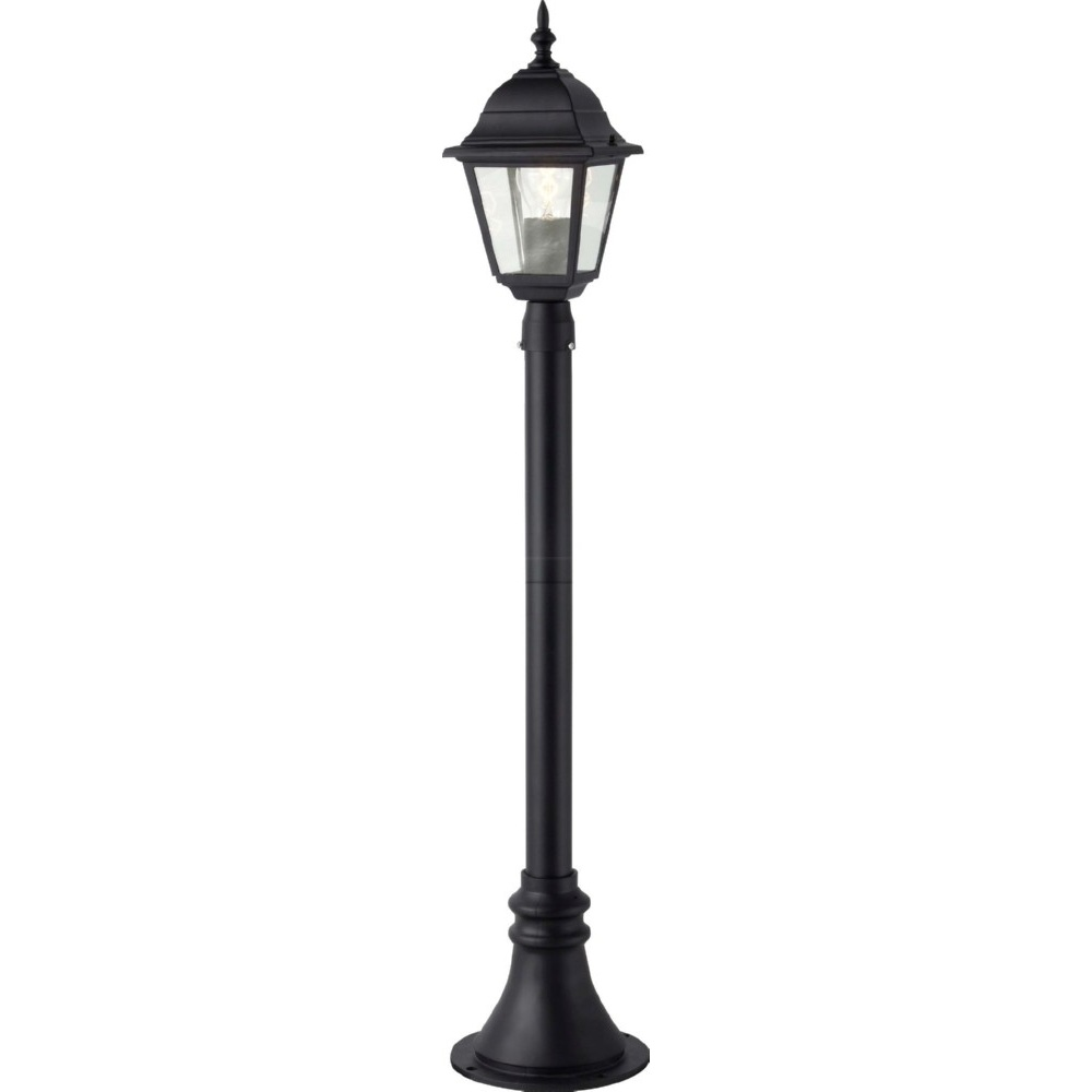 Zewnętrzna lampa stojąca Newport czarna