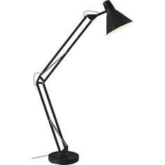 Lampa stojąca Winston czarna Brilliant