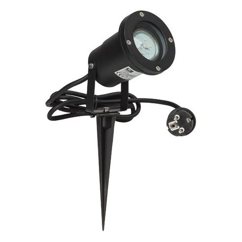 Zewnętrzna lampa stojąca Janko LED czarna