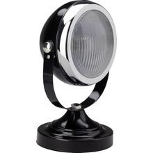 Lampa stołowa Rider czarna błyszczący/chrom