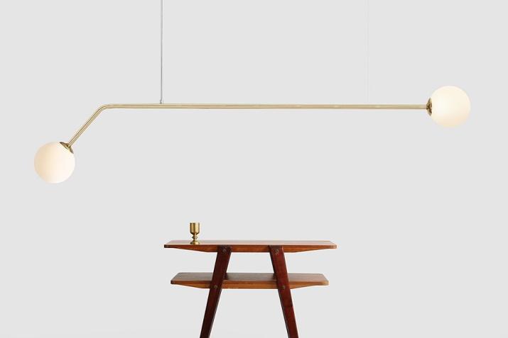 Złota lampa wisząca glamour ze szklanymi kloszami Pure Gold Aldex
